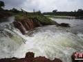 海口一水库发生外溢 近千亩农田被淹没 (3)