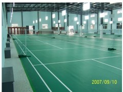 供应羽毛球场地坪漆及施工-- 东莞诚正装饰有限公司