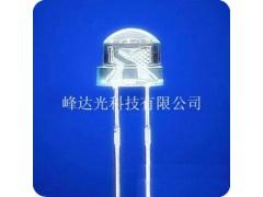 白光F5mm草帽白灯 草帽暖白光-- 深圳市峰达光科技有限公司