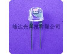 8mm草帽白光 草帽暖白光发光二极管LED灯珠-- 深圳市峰达光科技有限公司