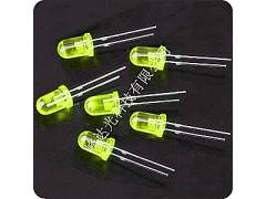 黄发黄光 发光二极管F5mmLED-- 深圳市峰达光科技有限公司