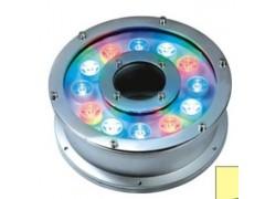 LED12WDMX512RGB全彩圆形喷泉灯,大功率喷泉灯-- 广东中山凯鸿越照明电器厂