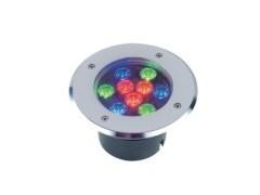 LED全不锈钢水下地埋灯,全彩地埋灯-- 广东中山凯鸿越照明电器厂