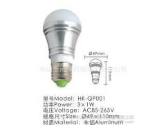 供应鸿坤照明HK-QP001 LED灯泡 高效LED节能灯-- 中山市鸿坤照明电器有限公司