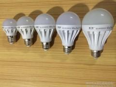 LED球泡灯 LED塑料球泡灯 LED节能灯 仿陶款3W  厂家直销 量大议价-- 深圳市龙岗区星晖照明厂