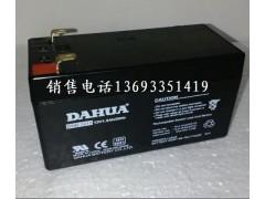 大华电池DHB1213 12V1.3Ah-- 大华DAHUA蓄电池销售中心