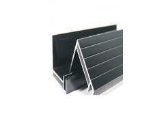 供应250W黑色太阳能边框铝型材 40*35MM-- 江苏凯伦铝业有限公司