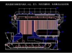 双锅筒燃煤蒸汽总图-- 郑州枫岚锅炉有限公司