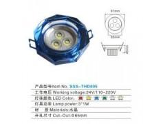天花灯3W-水玻璃晶-- 深圳大唐光电照明有限公司