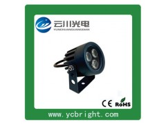 厂家直销景观亮化3W圆形LED户外射灯小投光灯-- 湖北云川光电科技有限公司