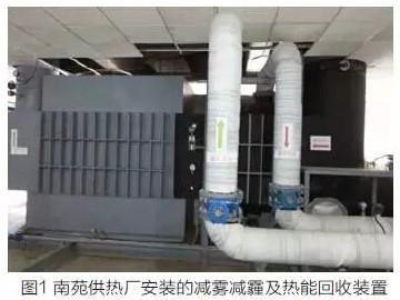 燃气锅炉减排及热能回收装置应用实例