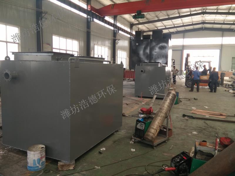 供应延边市医院污水处理设备、一体化污水处理设备潍坊浩德环保-- 潍坊浩德环保水处理设备有限公司