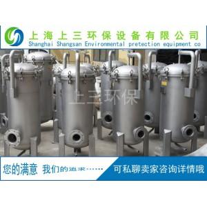 不锈钢多袋式过滤设备水处理化工处理