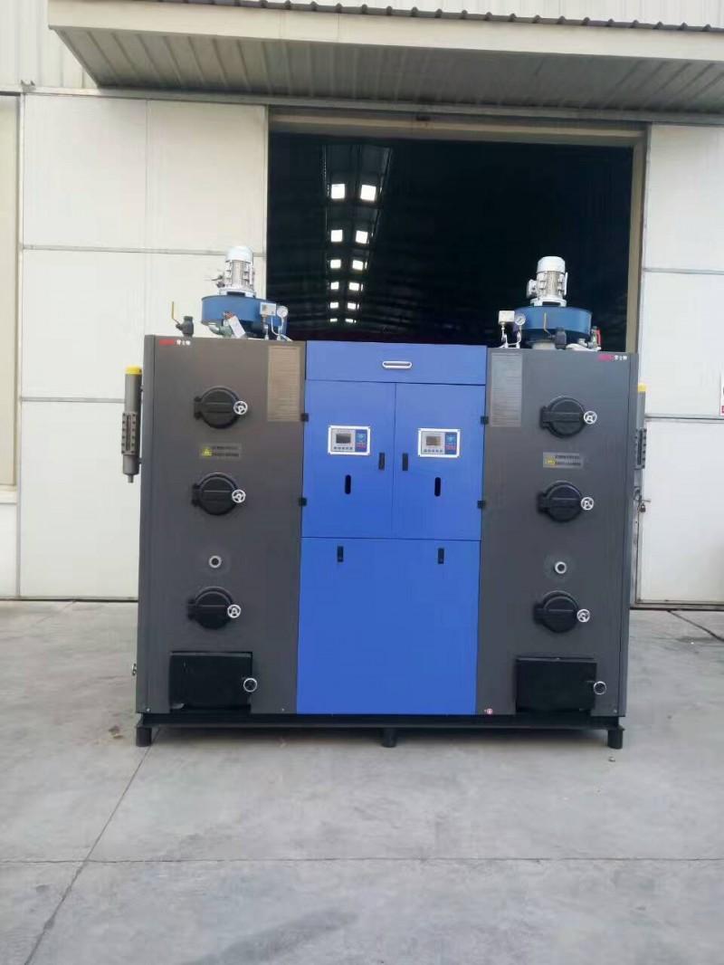 劳士特生物质蒸汽发生器组合式煤改生物质600kg-- 浙江绿野生物质锅炉科技有限公司