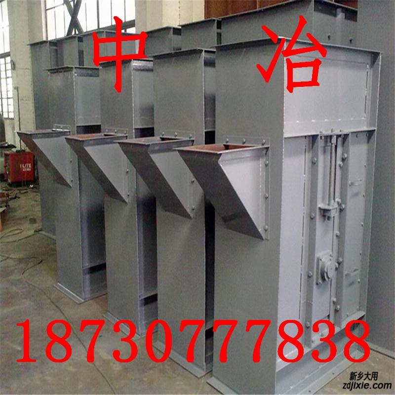 供应耐高温斗式提升机 矿用板链提升机   专业生产输送设备-- 中冶机械设备有限公司
