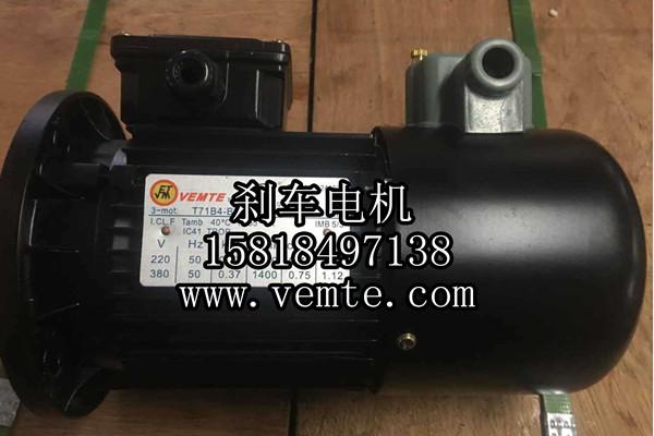 YEJ100LC2-4KW三相异步刹车电动机-- 永安银河电力有限公司