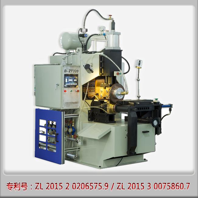 滚焊机生产厂家供应汽车刹车蹄半自动中频滚焊机-- 宁波锦世弘机械设备有限公司