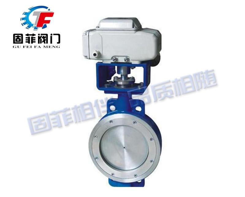 电动对夹三偏心蝶阀-- 固菲阀门(上海)有限公司
