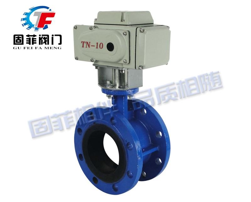 固菲阀门(上海)电动法兰蝶阀 GFD941X-16C-- 固菲阀门(上海)有限公司
