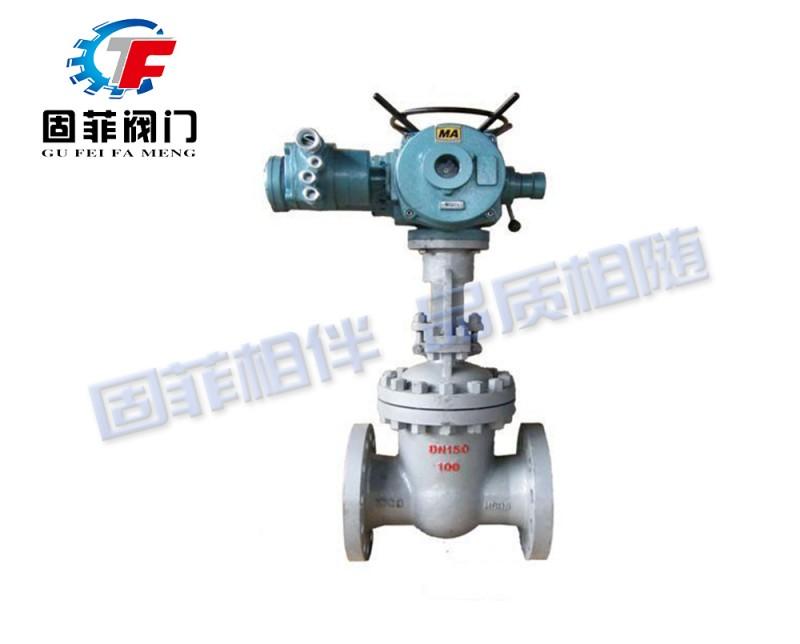固菲阀门(上海)电动法兰闸阀 GFZ941H-16C