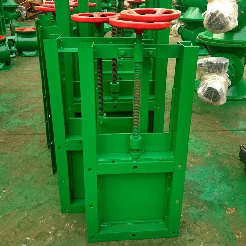 河北除尘厂家专业生产手动插板阀现货供应-- 河北正威环保科技有限公司