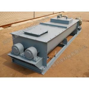 双轴粉尘加湿机适宜比重大物料加湿处理价格查询