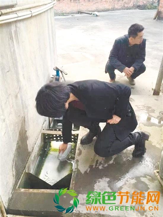 环保部门全覆盖排查违法排污企业被立案