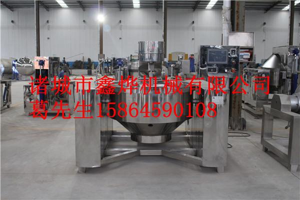 香菇酱电磁加热行星搅拌炒锅-- 诸城市鑫烨机械有限公司