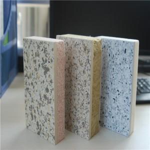 陕西天洋外墙保温节能一体化板_真石漆喷涂多彩板荔枝面