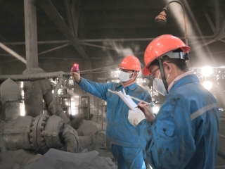 乌海市特检所认真高效开展电站锅炉检验工作