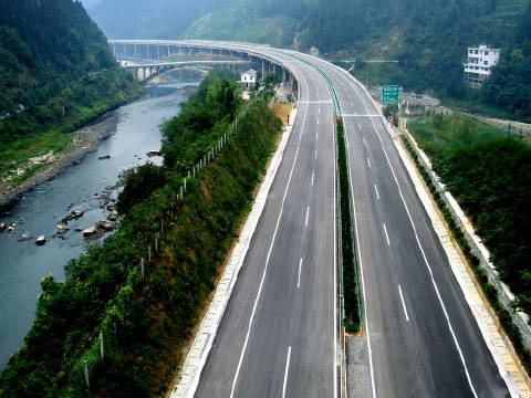 怀通高速(黔城-----怀化)-- 河南省豪来市政园林工程有限公司