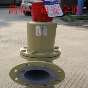 A42F46衬氟安全阀的工作原理 上海禹
