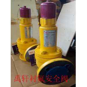 A42F46化工专用氯气安全阀,DN40耐腐