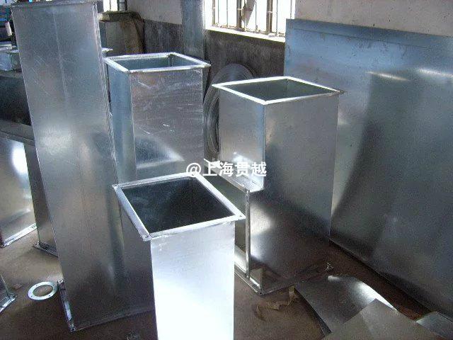 上海镀锌风管——白铁风管 通风管道 排烟管道 不锈钢风管厂家-- 上海贯越节能科技有限公司