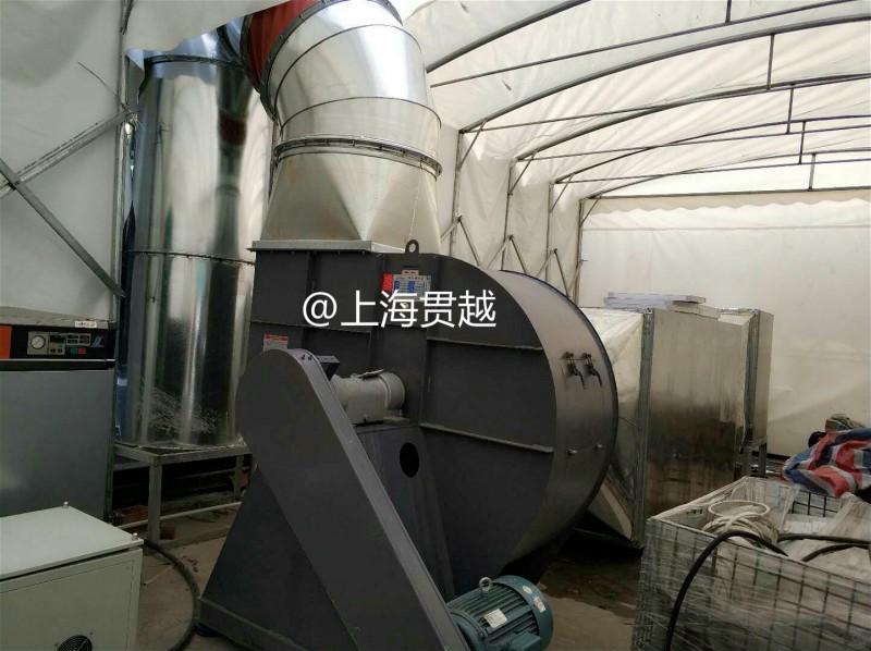 上海排烟风机安装——排烟工程/消防排烟管道/厂房排烟工程-- 上海贯越节能科技有限公司