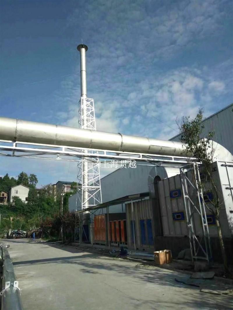 上海废气管道'除尘管道'车间油雾管道'车间烟雾管道-- 上海贯越节能科技有限公司