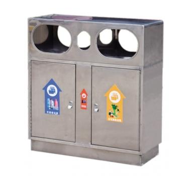 公园不锈钢垃圾桶-- 长沙市芙蓉区永松环卫设备经营部