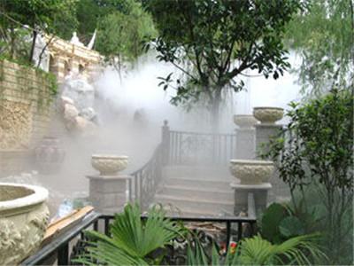 专业生产小区绿化带雾景人造雾设备-- 深圳市通宝环境技术有限公司