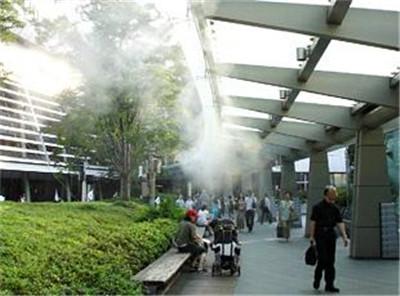 广东商业街喷雾降温设备厂家直供-- 深圳市通宝环境技术有限公司