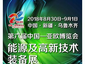 第六届中国—亚欧博览会 能源及高新技术装备展