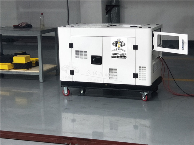 静音12kw柴油发电机,双缸发电机