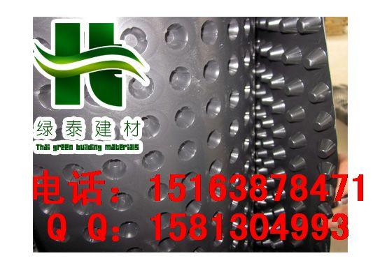 大型车库顶板排水板晋中Q运城地下室疏水板-- 泰安市泽瑞土工材料有限公司