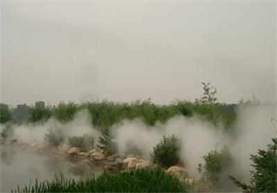 假山水池边冷雾人造雾系统企业生产-- 深圳通宝环境技术有限公司