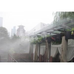 假山水池边冷雾人造雾系统