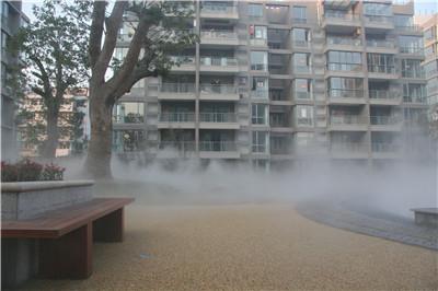 户外露天餐厅冷雾设备生产厂家-- 深圳通宝环境技术有限公司