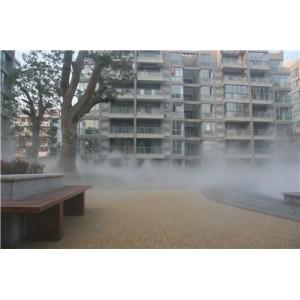 户外露天餐厅冷雾设备生产厂家