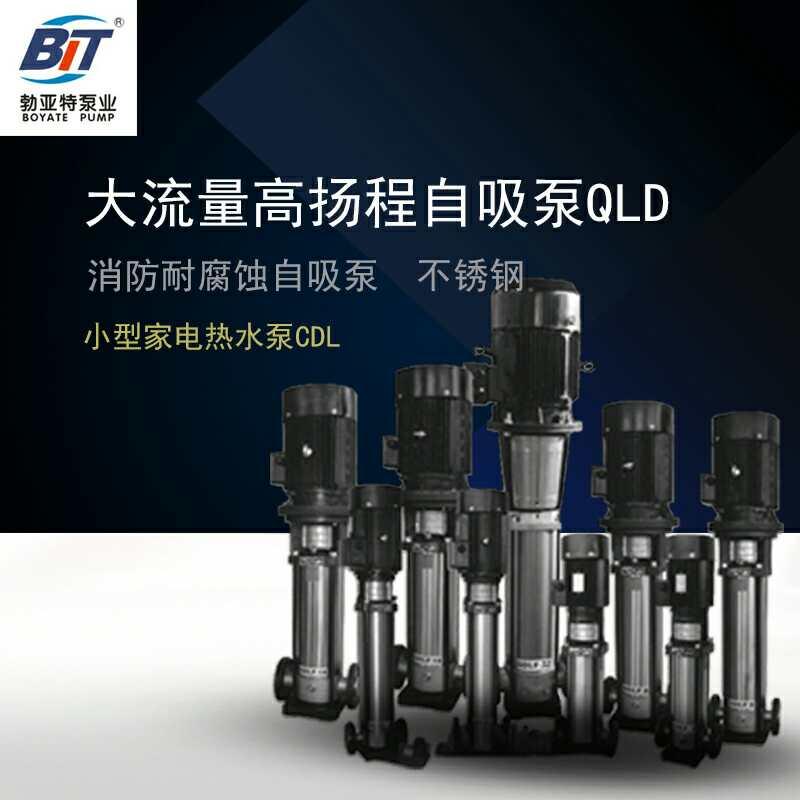 不锈钢变频泵多级离心泵-- 济宁勃亚特水泵公司
