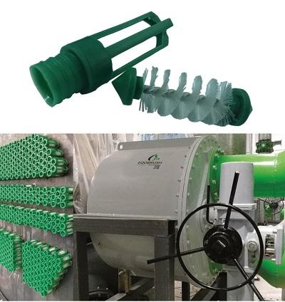 工业冷水机组结垢清洗EQOBRUSH自动在线刷洗系统-- 广州伟控商贸有限公司