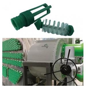 工业冷水机组结垢清洗EQOBRUSH自动在线刷洗系统