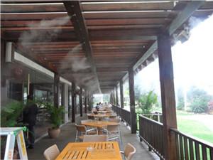 通宝餐饮店喷雾降温设备-- 深圳通宝环境技术有限公司